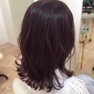 ナチュラル可愛い 大人女子 ミディアム イルミナカラー ヘアスタイルや髪型の写真・画像