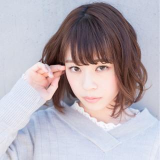 【ボブ美容師】東 純平さんのヘアスナップ