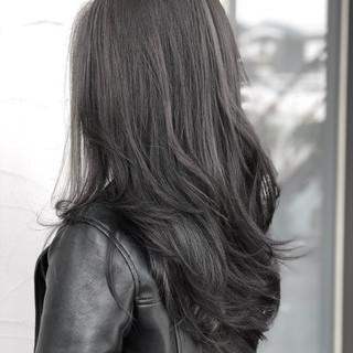 アッシュ デート エレガント グレージュ ヘアスタイルや髪型の写真・画像 ヘアスタイルや髪型の写真・画像