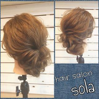ロング ヘアアレンジ フェミニン 大人かわいい ヘアスタイルや髪型の写真・画像