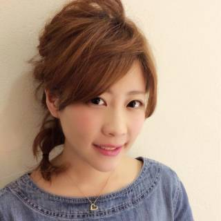 モテ髪 愛され 編み込み 簡単ヘアアレンジ ヘアスタイルや髪型の写真・画像