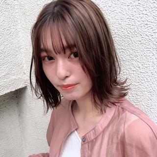 ナチュラル 大人かわいい 大人可愛い デジタルパーマ ヘアスタイルや髪型の写真・画像