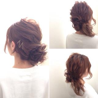 外国人風 ヘアアレンジ ヘアピン ヘアアクセ ヘアスタイルや髪型の写真・画像 ヘアスタイルや髪型の写真・画像