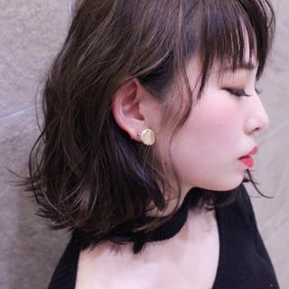 波ウェーブ 外国人風 色気 ウェーブ ヘアスタイルや髪型の写真・画像