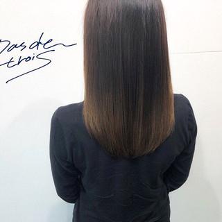 髪質改善トリートメント 艶髪 トリートメント 美髪 ヘアスタイルや髪型の写真・画像