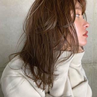 セミロング ナチュラル ヘアアレンジ 簡単ヘアアレンジ ヘアスタイルや髪型の写真・画像 ヘアスタイルや髪型の写真・画像