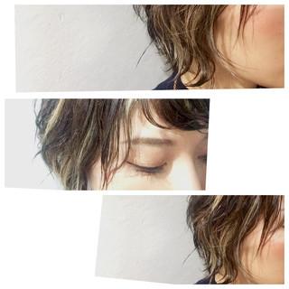 アッシュ ショート 外国人風 ストリート ヘアスタイルや髪型の写真・画像