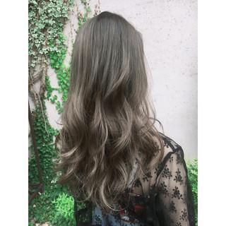 ヘアアレンジ ハイライト 夏 フェミニン ヘアスタイルや髪型の写真・画像