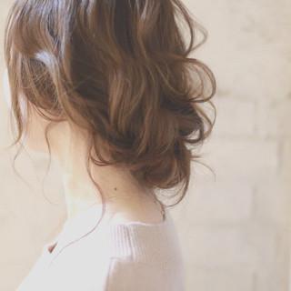 パーティ 大人かわいい ヘアアレンジ 結婚式 ヘアスタイルや髪型の写真・画像