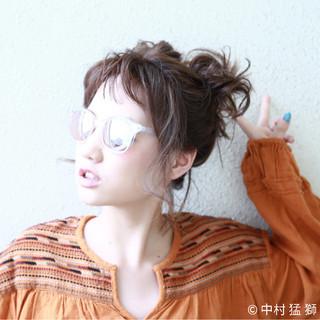 夏 色気 フェス 涼しげ ヘアスタイルや髪型の写真・画像