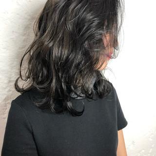 ミディアム 簡単ヘアアレンジ ヘアアレンジ 外国人風カラー ヘアスタイルや髪型の写真・画像 ヘアスタイルや髪型の写真・画像