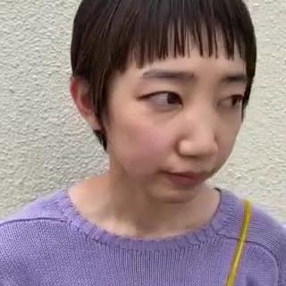 ショートヘア 透明感 ショートボブ ミニボブ ヘアスタイルや髪型の写真・画像