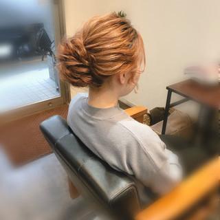 結婚式 ヘアアレンジ ヘアセット アップ ヘアスタイルや髪型の写真・画像