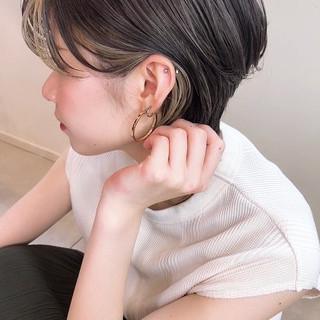 ハイライト アンニュイほつれヘア インナーカラー 外国人風カラー ヘアスタイルや髪型の写真・画像