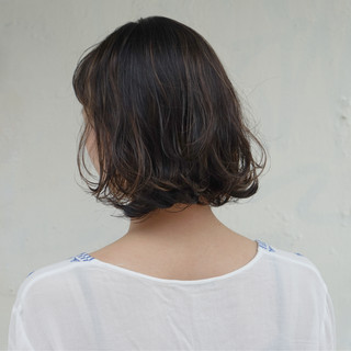 アンニュイ 外国人風 ボブ ナチュラル ヘアスタイルや髪型の写真・画像