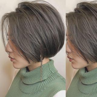ナチュラル グレージュ 簡単ヘアアレンジ デート ヘアスタイルや髪型の写真・画像