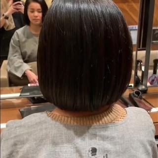 簡単ヘアアレンジ イメチェン ボブ ナチュラル ヘアスタイルや髪型の写真・画像 ヘアスタイルや髪型の写真・画像