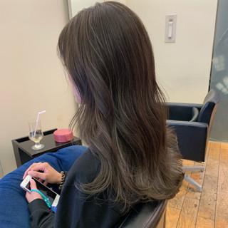 アンニュイほつれヘア ロング 大人かわいい イルミナカラー ヘアスタイルや髪型の写真・画像