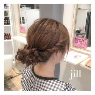 セミロング ショート 大人かわいい 簡単ヘアアレンジ ヘアスタイルや髪型の写真・画像 ヘアスタイルや髪型の写真・画像
