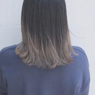 イルミナカラー オルチャン ストリート グレージュ ヘアスタイルや髪型の写真・画像