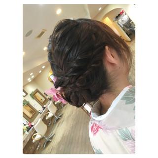 ナチュラル パーティ ヘアアレンジ 結婚式 ヘアスタイルや髪型の写真・画像 ヘアスタイルや髪型の写真・画像