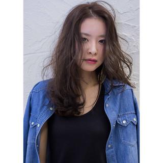 ハイライト ストリート グレージュ 大人かわいい ヘアスタイルや髪型の写真・画像