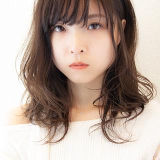 ヘアカラー ナチュラル レイヤーカット 髪質改善 ヘアスタイルや髪型の写真・画像