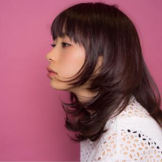 ピンク フェミニン ウルフカット ピンクアッシュ ヘアスタイルや髪型の写真・画像