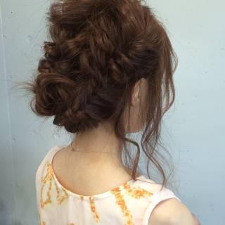 フェミニン 愛され ゆるふわ ロング ヘアスタイルや髪型の写真・画像
