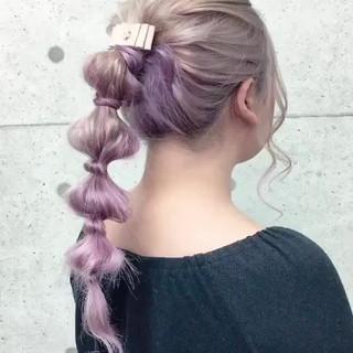 ヘアセット セミロング ヘアアレンジ 成人式 ヘアスタイルや髪型の写真・画像