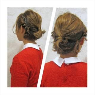ショートボブ ショート ハイトーン アップスタイル ヘアスタイルや髪型の写真・画像