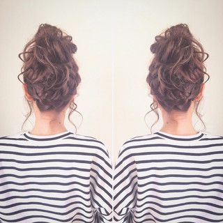 セミロング モテ髪 ストリート ショート ヘアスタイルや髪型の写真・画像