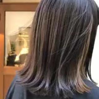 デート アウトドア ゆるふわ ボブ ヘアスタイルや髪型の写真・画像