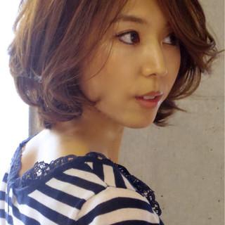 フェミニン ゆるふわ アッシュ 大人かわいい ヘアスタイルや髪型の写真・画像
