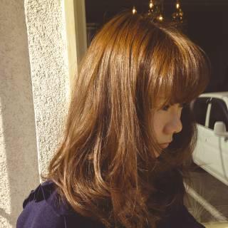 ロング コンサバ 丸顔 モテ髪 ヘアスタイルや髪型の写真・画像
