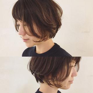 ナチュラル 外国人風 小顔 アッシュ ヘアスタイルや髪型の写真・画像