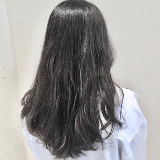 ゆるふわ グラデーションカラー ウェーブ ナチュラル ヘアスタイルや髪型の写真・画像