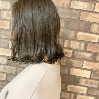 外ハネボブ ボブ ナチュラル N.オイル ヘアスタイルや髪型の写真・画像