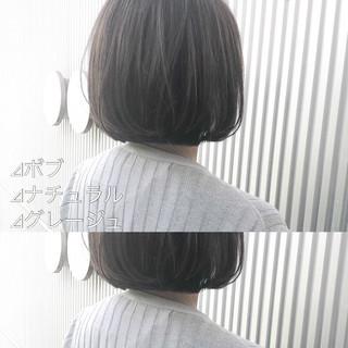 前髪 グレージュ ショート アッシュグレージュ ヘアスタイルや髪型の写真・画像 | 萩原 翔志也/ブリーチなしグレージュ/ストレート / Vicca 青山