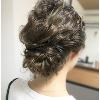涼しげ ヘアアレンジ 結婚式 パーティ ヘアスタイルや髪型の写真・画像 ヘアスタイルや髪型の写真・画像