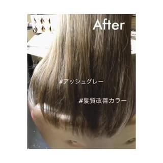 イルミナカラー ロング 透明感 ナチュラル ヘアスタイルや髪型の写真・画像