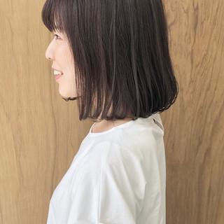 グラデーションカラー ボブ 外ハネボブ ショートボブ ヘアスタイルや髪型の写真・画像