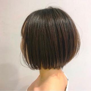 まとまるボブ ボブヘアー モテボブ ナチュラル ヘアスタイルや髪型の写真・画像