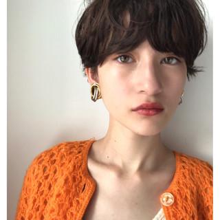 ショート 簡単ヘアアレンジ ゆるふわ ヘアアレンジ ヘアスタイルや髪型の写真・画像