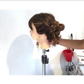 ロング 女子会 アウトドア フェミニン ヘアスタイルや髪型の写真・画像