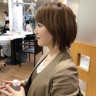 ショートヘア 大人ショート ショートボブ ショート ヘアスタイルや髪型の写真・画像 | 高橋 幸嗣 / Befine
