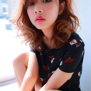 ゆるふわ 大人かわいい モード フェミニン ヘアスタイルや髪型の写真・画像