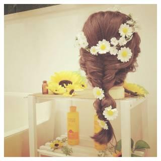 外国人風 ゆるふわ 大人かわいい ガーリー ヘアスタイルや髪型の写真・画像