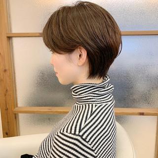 大人ショート ショートヘア ふんわりショート ふんわり ヘアスタイルや髪型の写真・画像