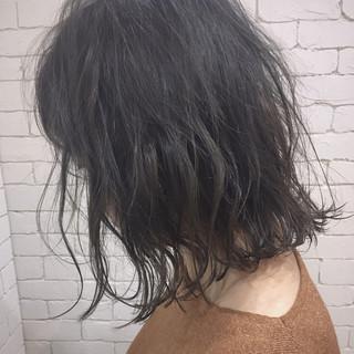 ラフ ボブ ナチュラル 抜け感 ヘアスタイルや髪型の写真・画像
